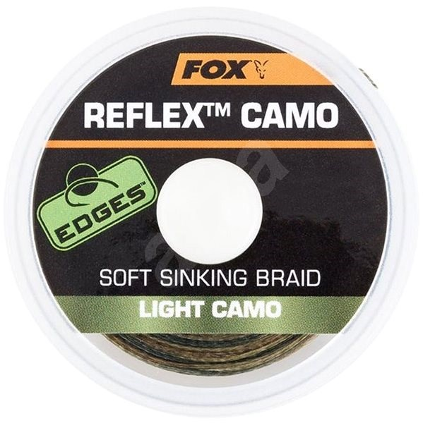 FOX - Šňůra Reflex Sinking 11,3kg 25lb 20m Light Camo - Šňůra
