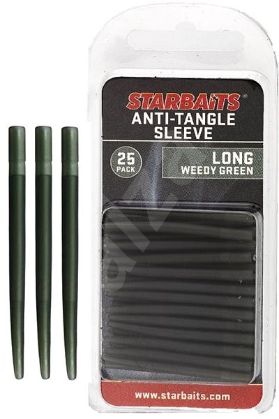 Starbaits Anti Tangle Sleeve Long 4cm Zelený 25ks - Převlek