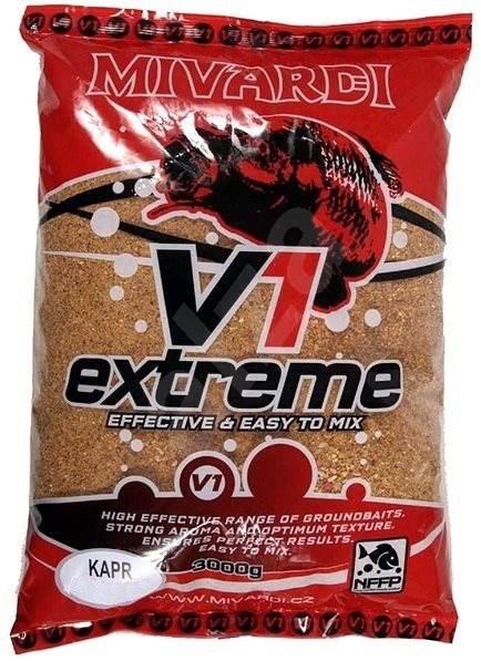 Mivardi - V1 Kapr Extra 3kg - Vnadící směs