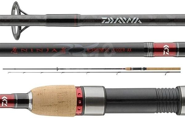 Daiwa Ninja Jigger Spin 2,4m 7-28g - Rybářský prut