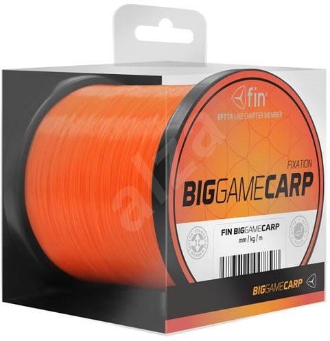 FIN Big Game Carp 0,30mm 13,2lbs 600m Oranžový - Vlasec