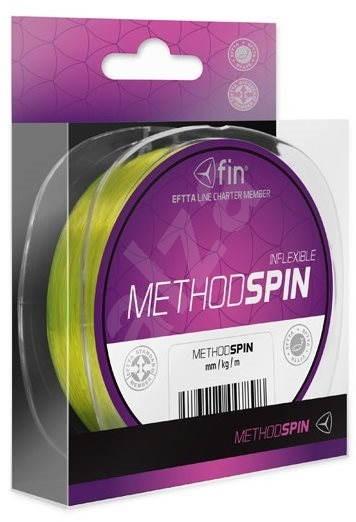 FIN Method Spin 0,12mm 2,9lbs 200m Žlutý - Vlasec