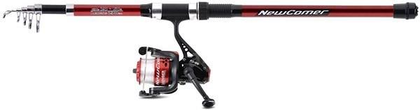 Saenger Newcomer Set, 2.70m, 20-60g, Red - Fishing Kit