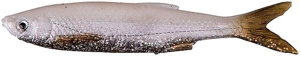 Savage Gear LB 3D Bleak Real Tail 13,5cm 14g White Silver 4ks - Gumová nástraha