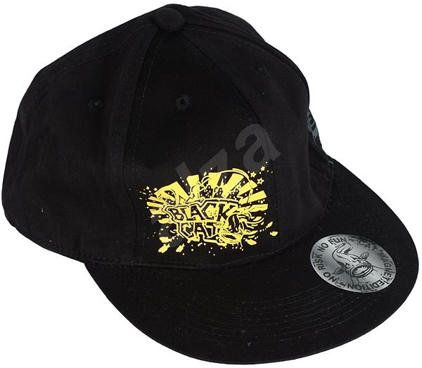 Black Cat Rapper Cap - Kšiltovka  553babcb49