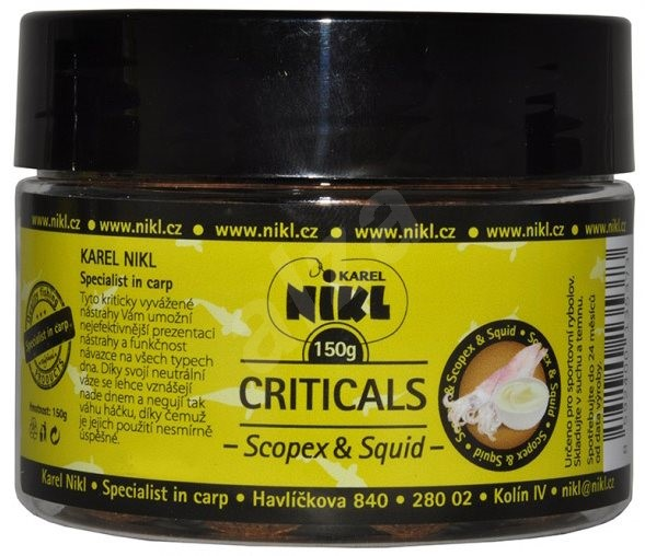Nikl Criticals boilie Scopex & Squid 21mm 150g - Boilies