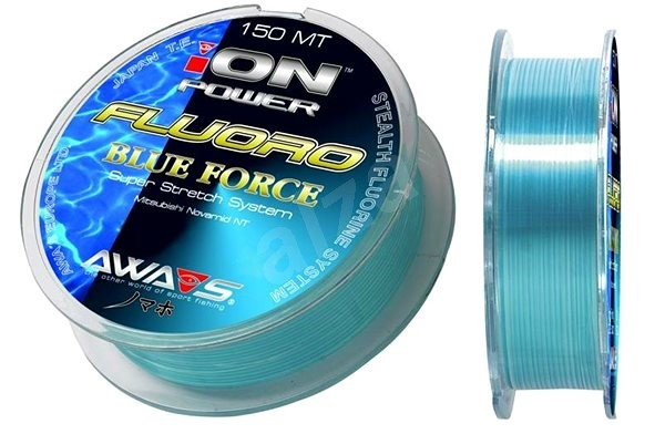 Awa Shima - Vlasec Ion Power Fluoro Blue Force 0,203mm 5,4kg 150m - Vlasec