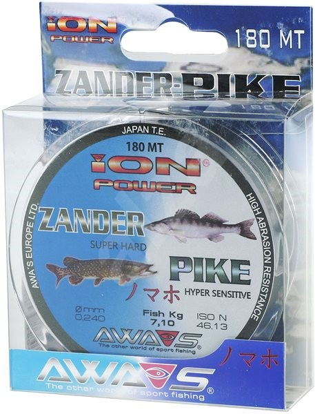 Awa Shima - Vlasec Ion Power Zander Pike 0,24mm 7,1kg 180m - Vlasec