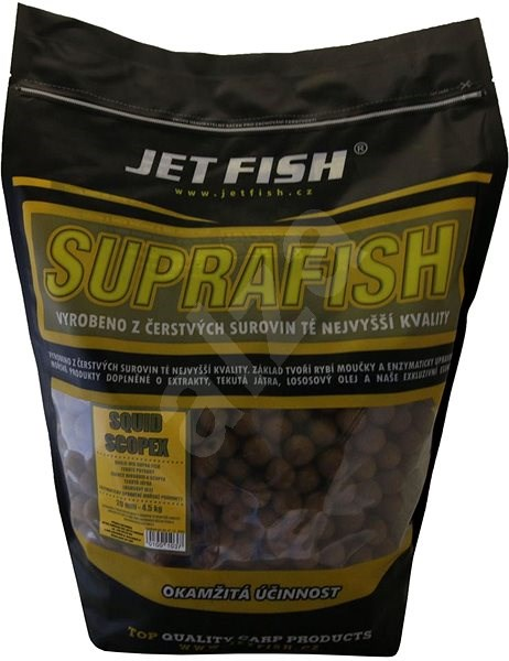 Jet Fish Boilie Suprafish Scopex/Squid 20mm 4,5kg - Boilies