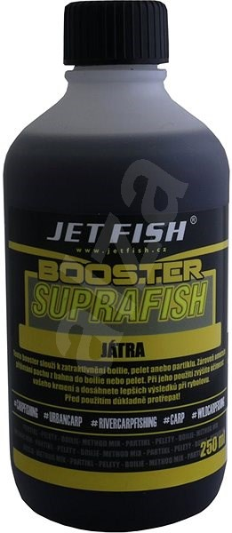 Jet Fish Booster Suprafish Játra 250ml - Booster