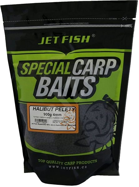 Jet Fish Pelety Special Carp Halibut 4mm 900g - Pelety