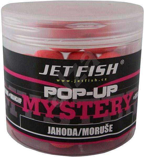 Jet Fish Pop-Up Mystery Jahoda/Moruše 20mm 60g - Pop-up boilies