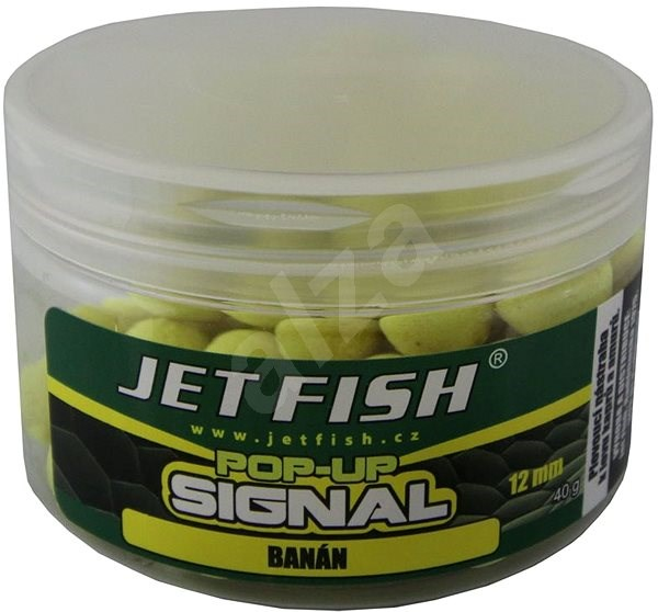 Jet Fish Pop-Up Signal Banán 12mm 40g - Pop-up boilies