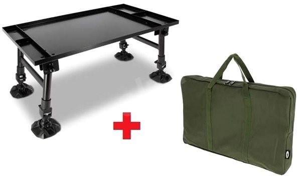 NGT Dynamic Bivvy Table + Obal ZDARMA - Stolek