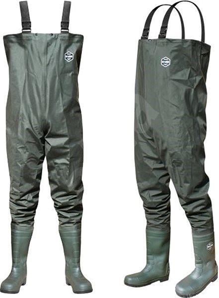 Delphin Prsačky River Velikost 42 - Brodící kalhoty