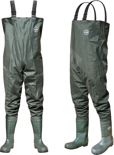 Delphin Prsačky River Velikost 45 - Brodící kalhoty