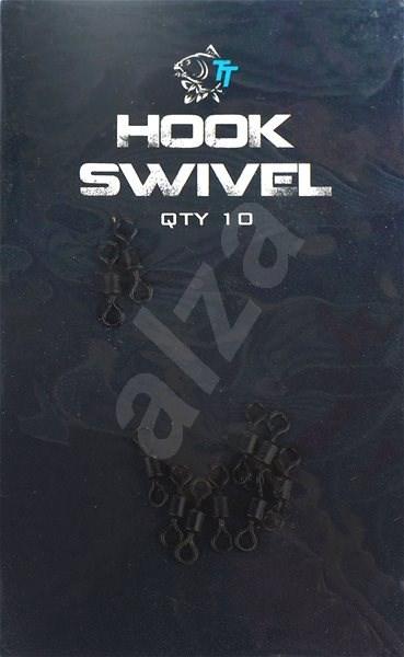 Nash Hook Swivels 10ks - Obratlík