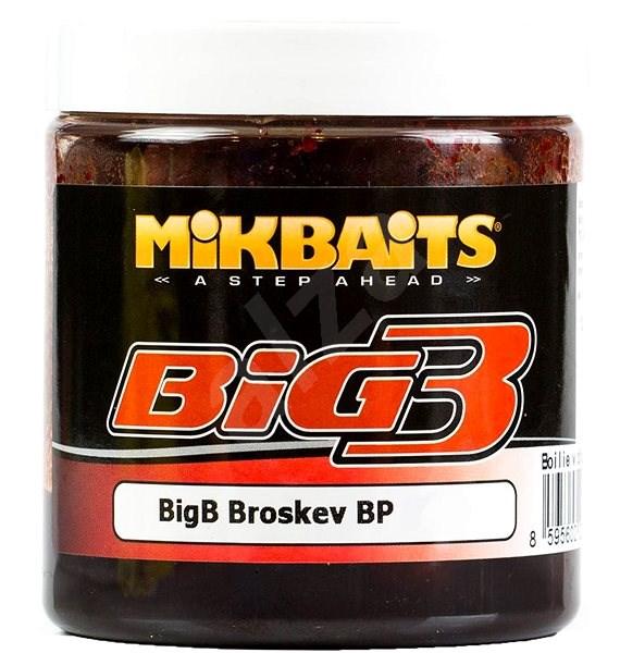 Mikbaits Legends Těsto BigB Broskev Black pepper 200g - Těsto