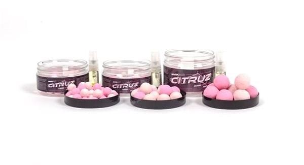 Nash Citruz Pop Ups Pink 18mm 75g  - Pop-up boilies