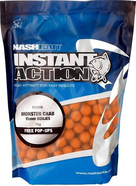 Nash Instant Action Monster Crab 15mm 1kg - Boilies