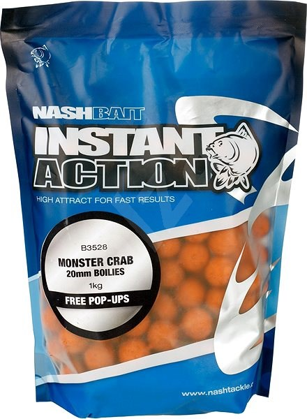 Nash Instant Action Monster Crab 20mm 1kg - Boilies