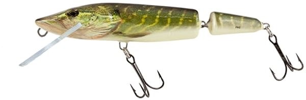 Salmo Pike Jointed Floating 13cm 21g Real Pike - Wobler