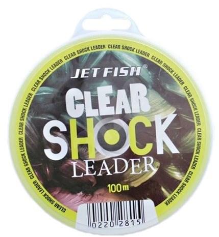 Jet Fish - Vlasec Clear Shock Leader 0,45mm 9,1kg 100m - Vlasec