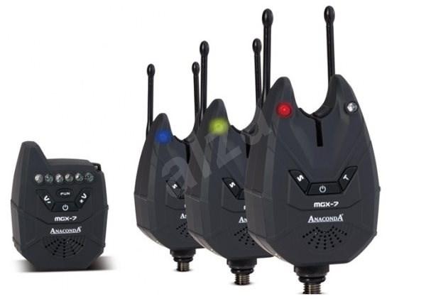 Anaconda Nighthawk MGX-7 Set 3+1 Multicolor - Sada hlásičů