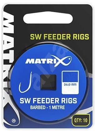 FOX Matrix 1m SW Feeder Rigs 0,165mm Size 12 10pcs - Rig