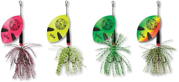 MADCAT Big Blade Spinner 55g Green - Třpytka