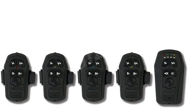 MADCAT Smart Alarm Set 2+1 Červená, Zelená - Sada hlásičů
