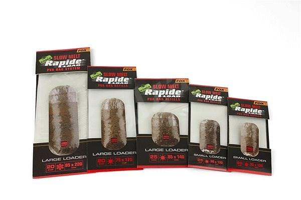 FOX Rapide Refills Slow Melt 60x130mm 25ks  - PVA sáček