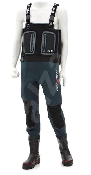 DAM Coolwater Wader Felt Sole Velikost 46/47 - Brodící kalhoty