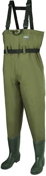 DAM Hydroforce Nylon Taslan Chestwader Velikost 38 - Brodící kalhoty
