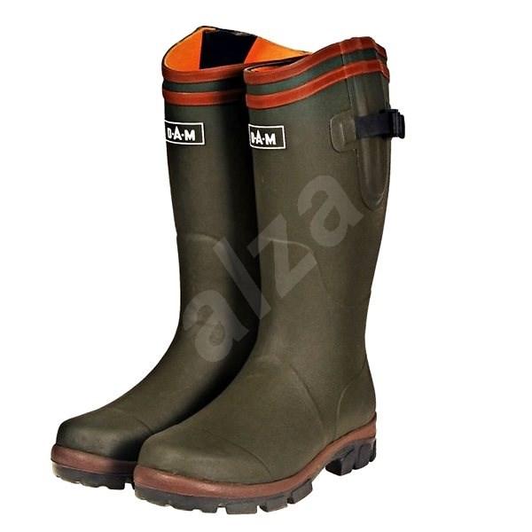 DAM Flex Rubber Boots Neoprene Lining Velikost 43 - Holínky