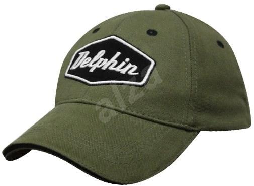 9c51c215eef Delphin Kšiltovka Zelená - Kšiltovka