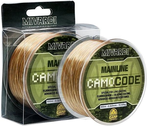 Mivardi CamoCODE Mainline 0,255mm 6,55kg 600m - Vlasec