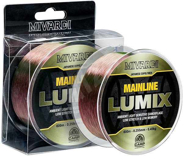 Mivardi Lumix Mainline 0,385mm 14,5kg 600m - Vlasec
