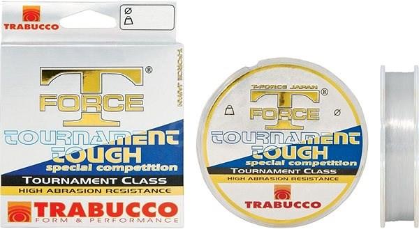 Trabucco T-Force Tournament Tough 0,30mm 150m - Vlasec