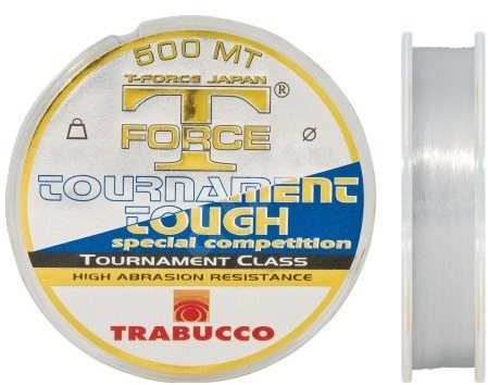 Trabucco T-Force Tournament Tough 0,25mm 500m - Vlasec