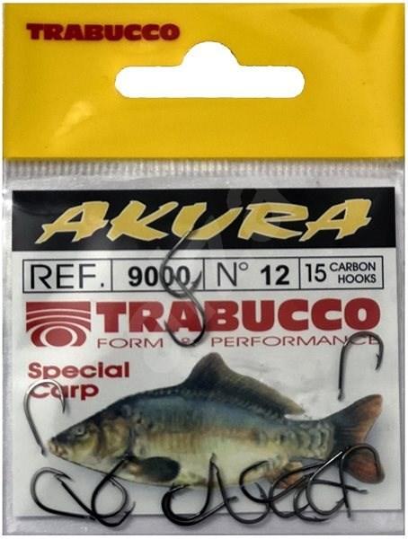 Trabucco Akura 9000 Velikost 12 15ks - Háček na ryby