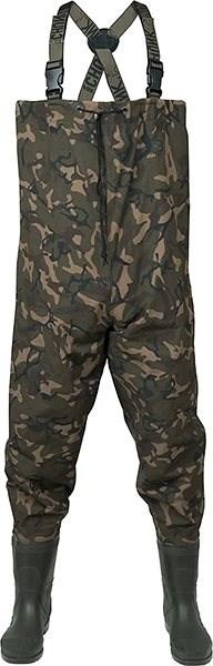 FOX Chunk Camo Lightweight Waders Velikost 44 - Brodící kalhoty