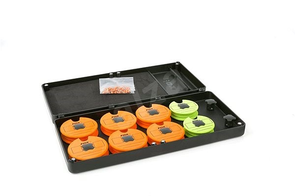 FOX F Box Disc & Rig Box System Medium + Pins + Discs - Krabička
