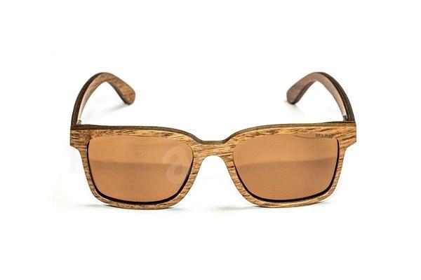 Nash Timber Sunglasses Amber - Glasses