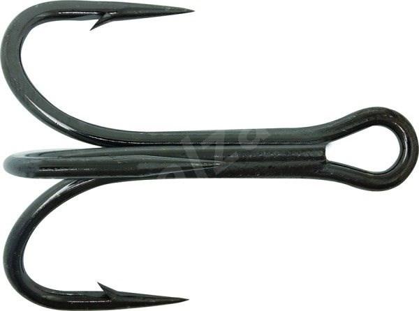 Mustad Needlepoint Treble Hook Velikost 1/0 6ks - Trojháček