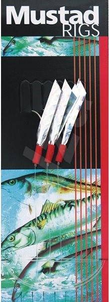 Mustad 3 Hook Sea Flector Mackerel Trace T4A Velikost 1/0 - Návazec