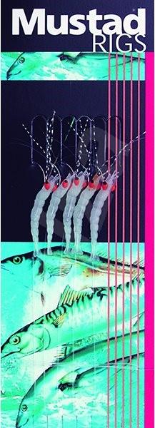 Mustad Luminious Shrimp Rig T52 Velikost 8 - Návazec