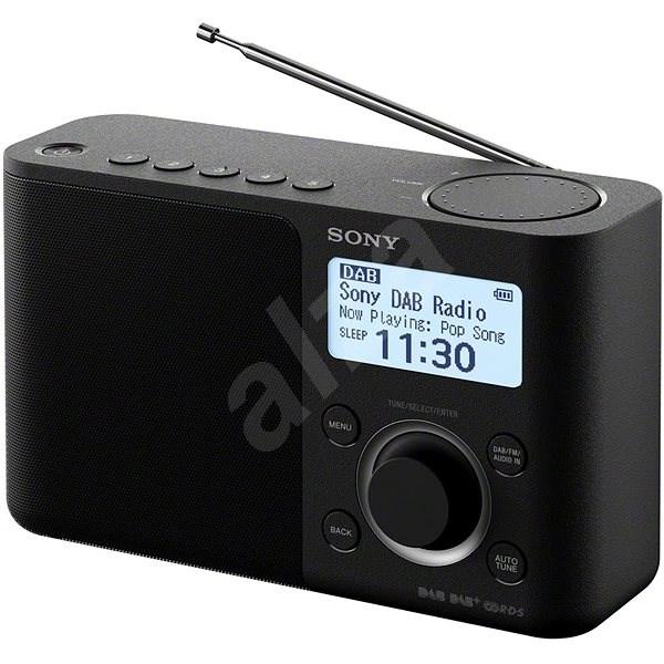 Sony XDR-S61D černý - Rádio
