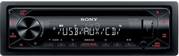 Sony CDX-G1300U - Autorádio