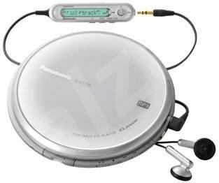 Panasonic SL-CT720EG-S - stříbrný (silver), CD/ MP3 přehrávač, DO - MP3 přehrávač